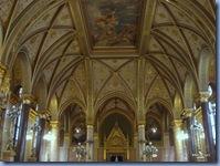 Interior do Parlamento - afrescos de Károly Lotz