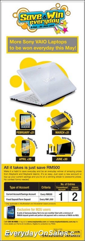 maybank-sony-vaio-laptop-2011-EverydayOnSales-Warehouse-Sale-Promotion-Deal-Discount