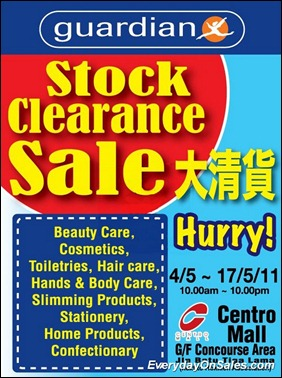 Guardian-Stock-Clearance-2011-EverydayOnSales-Warehouse-Sale-Promotion-Deal-Discount