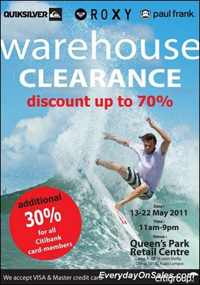 Quicksilver-Roxy-Paulfrank-warehouse-clearance-sale-2011-EverydayOnSales-Warehouse-Sale-Promotion-Deal-Discount