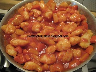 pollo in salsa agrodolce