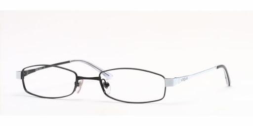 Óculos VO3560 Vogue Preto com Branco