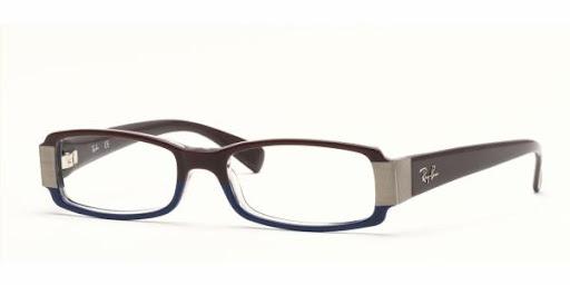 Óculos RX5077 Ray Ban Vinho