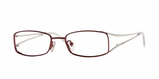 Óculos Vogue VO3633 Vinho com Branco