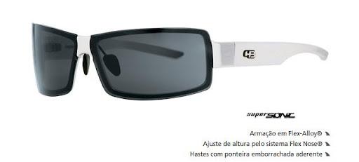 Óculos de Sol HB Super Sonic Black