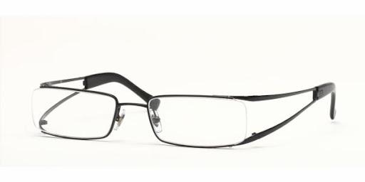 Suave e contrastante óculos de grau Ray Ban modelo RX6108/ 2509