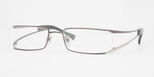 Fino e elegante, modelo RX6108/ 2585 da marca de óculos Ray Ban
