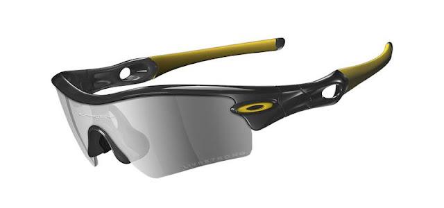 Armação super arrojada do modelo Radar - Live Strong da marca de óculos Oakley