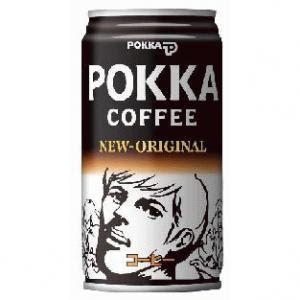 今のポッカコーヒーのキャラクターの顔