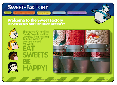Welcome to the Sweet Factory