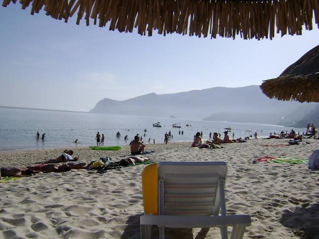 Orilla de la Playa en Setubal