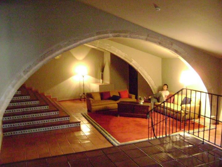 Pasillos interiores del Parador de Trujillo