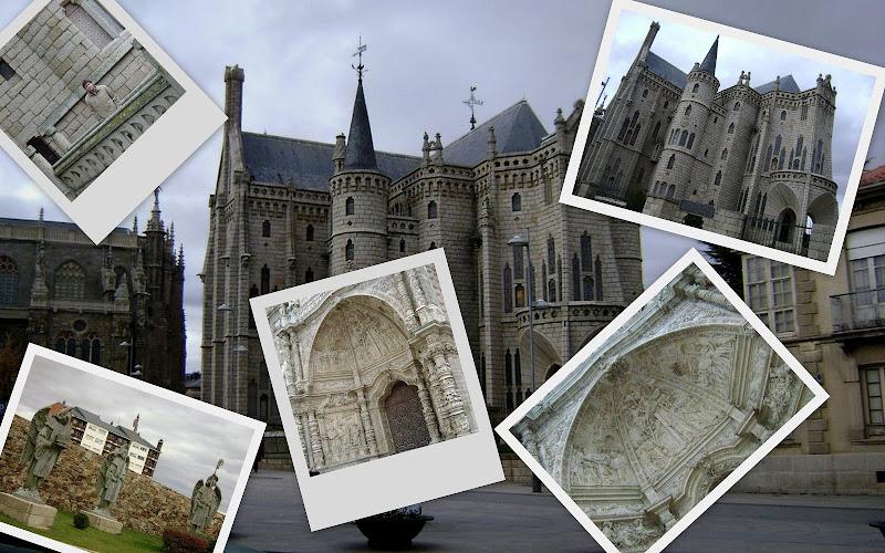 Palacio Gaudi y Catedral en Astorga, Camino de Santiago