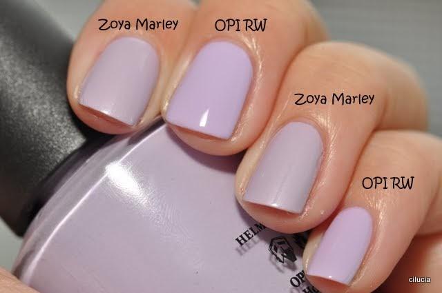 Spaz Amp Squee Reader Request Comparison Of Zoya Marley
