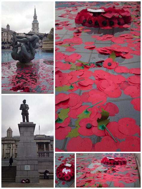 Armistice day - Trafalgar square