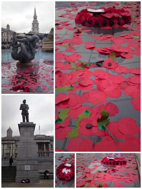 Armistice day - Trafalgar square