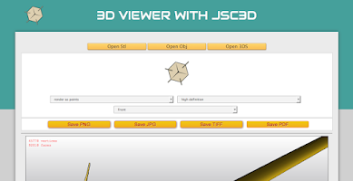 Screenshot of 3D Model Droid Viewer