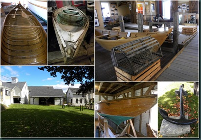 museum boats collage