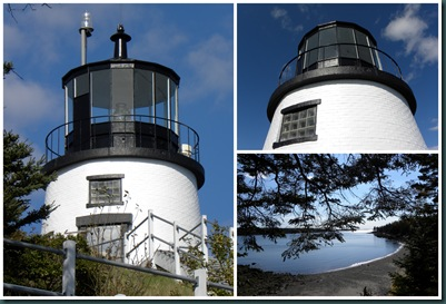 lighthouse collage