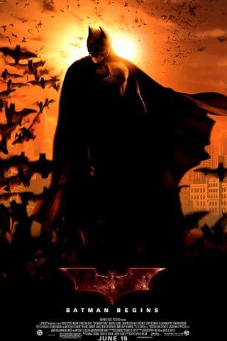 iPhone Wallpaper Batman Begins Poster