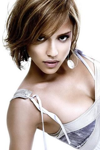 Jessica Alba Photo Background For iPhone