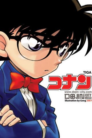iPhone Wallpaper Detective Conan Picture