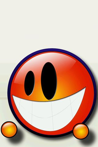 Cute Smile Graphic iPhone Wallpaper