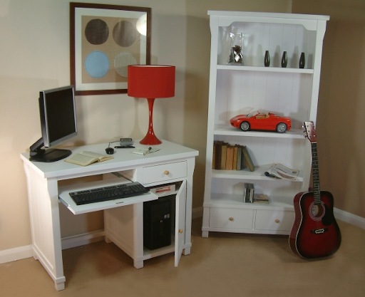 White Wooden Furniture Design Interior