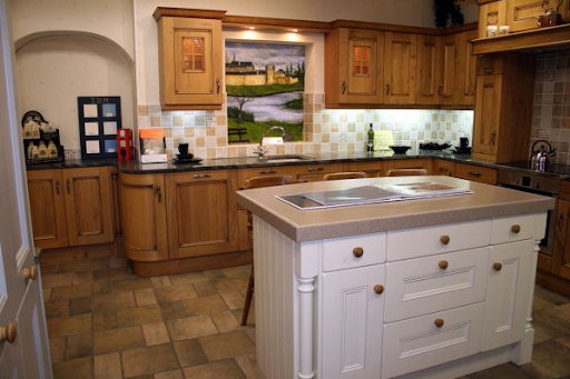 Furniture Sets and Design for Traditional Kitchen by in House Designs