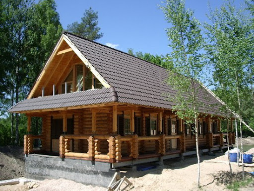 Log Home Design from The Tsarina Imperial Dacha