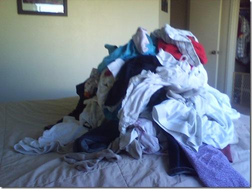 pile o laundry