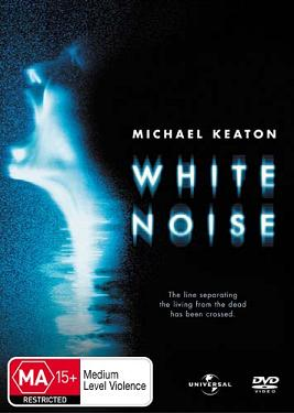 White Noise Australian DVD cover (with incorrect rating)