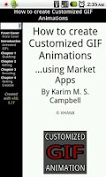 Screenshot of Customized GIF Animations