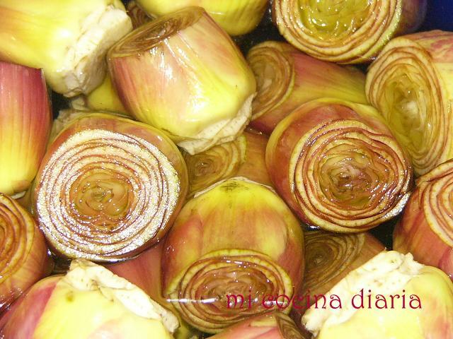 Alcachofas fritas (Артишоки жареные)