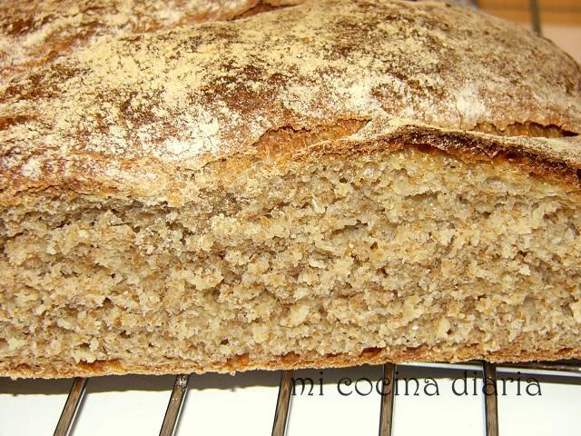 Reanimación de la masa madre. Pan de harina integral (Оживление закваски. Хлеб из муки с отрубями)
