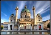 Karlskirche (St. Charles Church), Vienna, Austria
