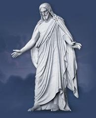 Jesus Christ, Mormon Temple, Salt Lake City, Utah