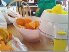 Orange juice pict