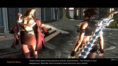 In Divine Souls the characters are speaking, the voice acting is not full, but many quests trigger cut-scenes where characters speak to each other.