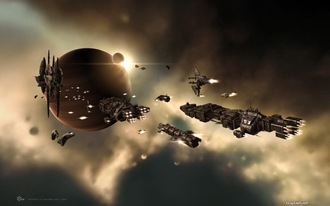 Eve Online capital ships
