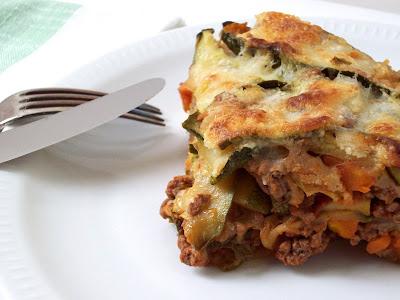 Parmigiana de courgettes - Un déjeuner de soleil