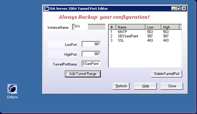 09-02-23 SBS 2008 and ISA 2006 - SSL Port configuration with SharePoint