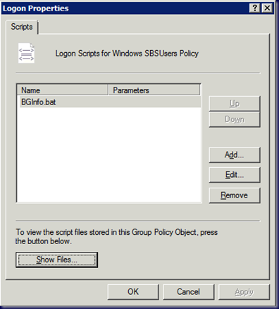 09-03-23 BGInfo - SBS 2008 Batch File