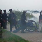 Bilder der Kanonade beim Gefecht um Lauenburg