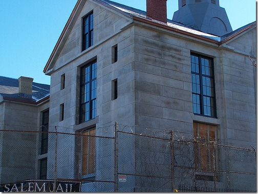 Salem Jail, new windows, January 2010