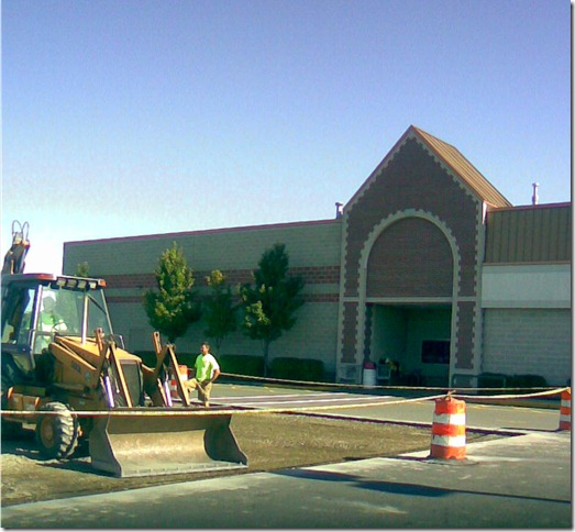 Market Basket handicapped lot rebuilt