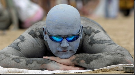 APTOPIX South Korea Mud Festival