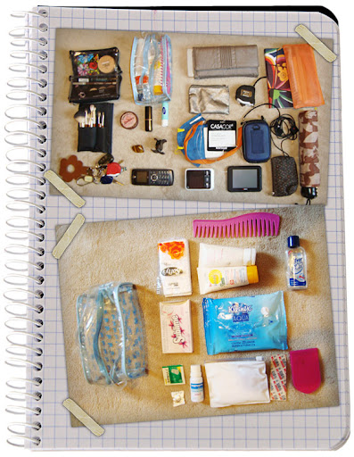 What`s in your bag: Tati Salvador