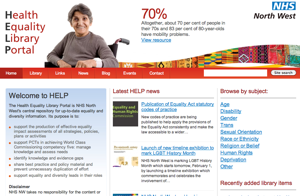 The HELP home page