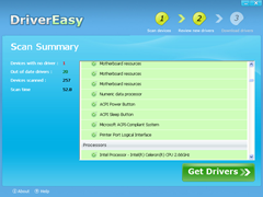 Driver Easy Scan Summary